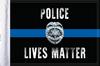 FLG-PLM15  Police Lives Matter flag 10x15