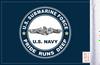 FLG-NVSUB Navy Submarine 6x9 Flag (BACK)