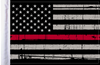 FLG-GTRL-US Grunge USA Red Line 6x9 flag
