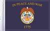 FLG-MERMAR15 Merchant Marine flag 10x15