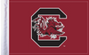 "USC Gamecocks 6""x9"" Motorcycle Flag"