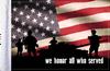 FLG-HONOR  We Honor All 6x9 flag