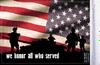 FLG-HONOR  We Honor All 6x9 flag (BACK)