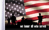 FLG-HONOR15 We Honor All flag 10X15