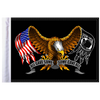 """10""""x15"""" Parade flag:  Some Gave All - Eagle"""