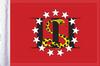 FLG-3PERC15 3 Percenters flag 10x15