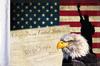 FLG-CONEG15  USA Eagle & Constitution flag 10x15