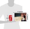 "6""x9"" USA Eagle & Constitution (size comparison view)"