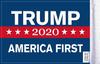 FLG-TRUMP  America First Trump 2020 flag 6x9 (BACK)