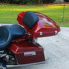 Quick detach Softail rack (tour pack not included)