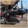 TPX-CRZRGB-RX97PS; Cruzer Tour Pack on Harley Road King with 97-08 Mounting Raxx