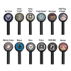 Black Decorative Pole Topper Options