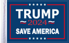 FLG-TRMPSA15  Trump 2024 Save America flag 10x15