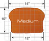 Medium Polymer Pro Pad Insert