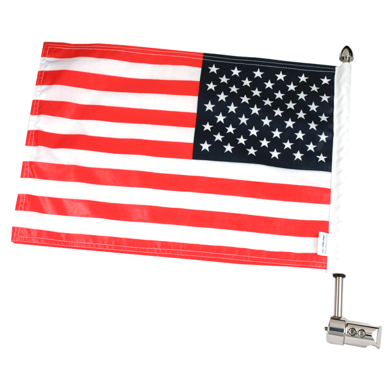 RFM-RDSB515 with 10x15 USA Parade flag