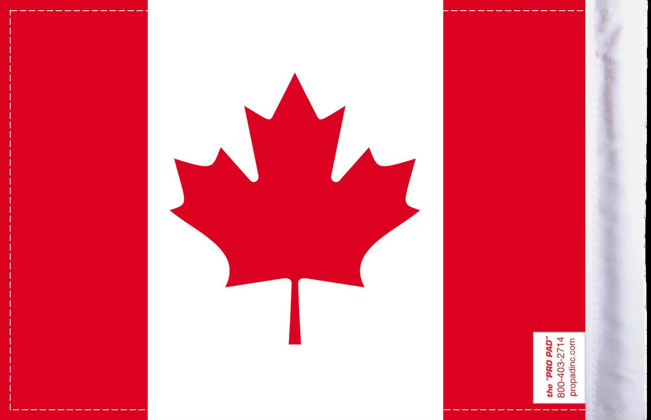FLG-CAN Canada 6x9 flag (BACK)