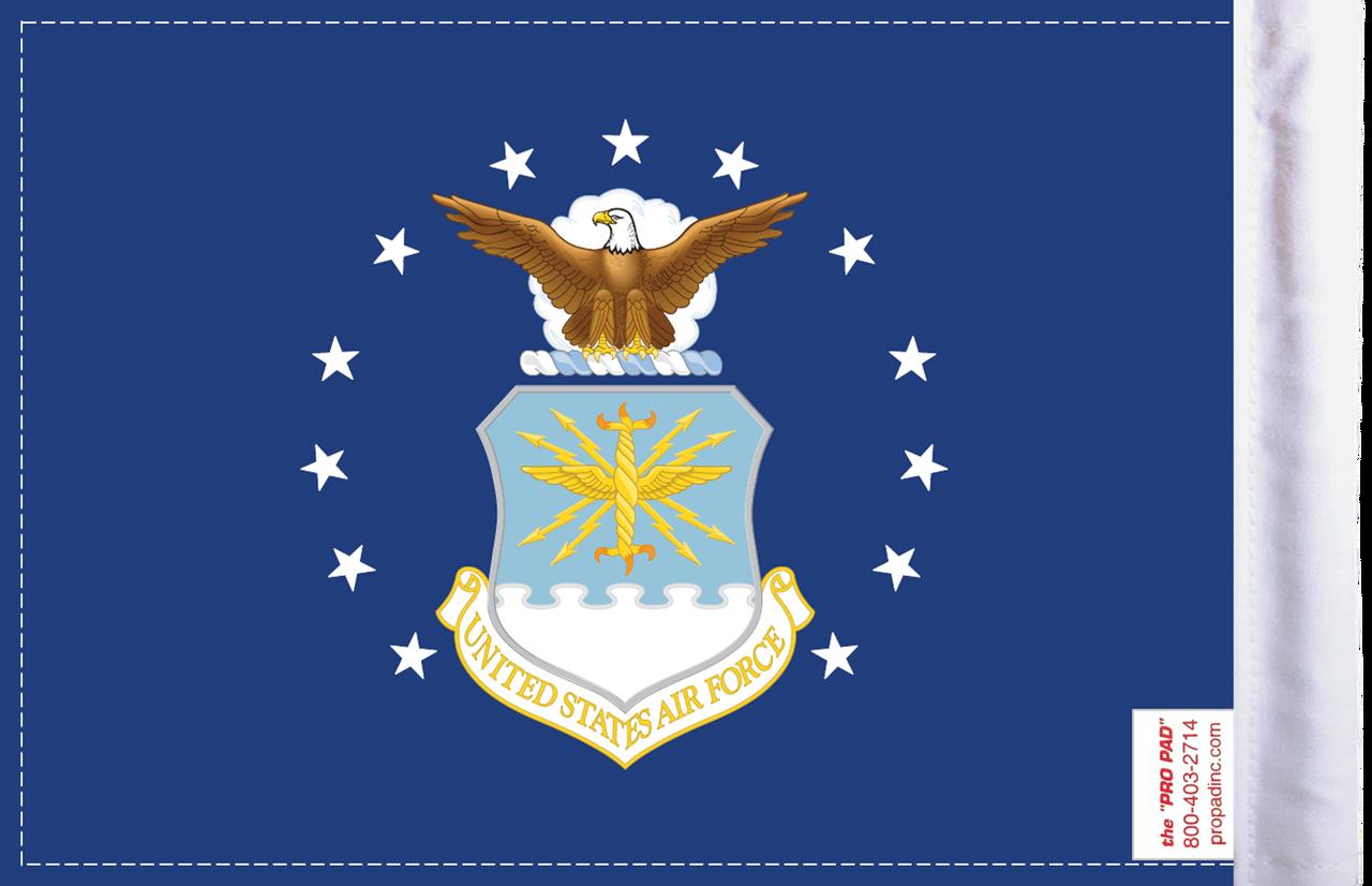 FLG-AF U.S. Air Force (seal) 6x9 Flag (BACK)