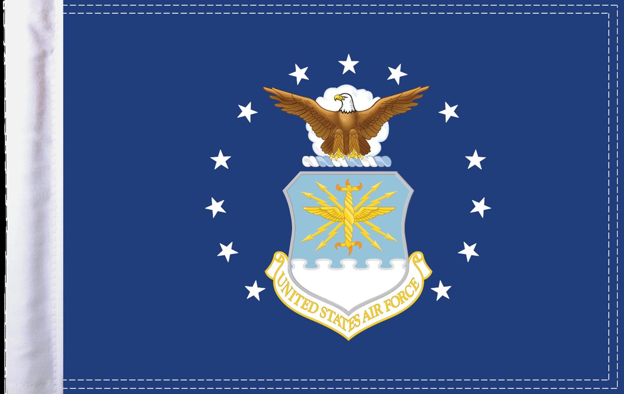 FLG-AIRF15 U.S. Air Force (seal) 10x15 flag