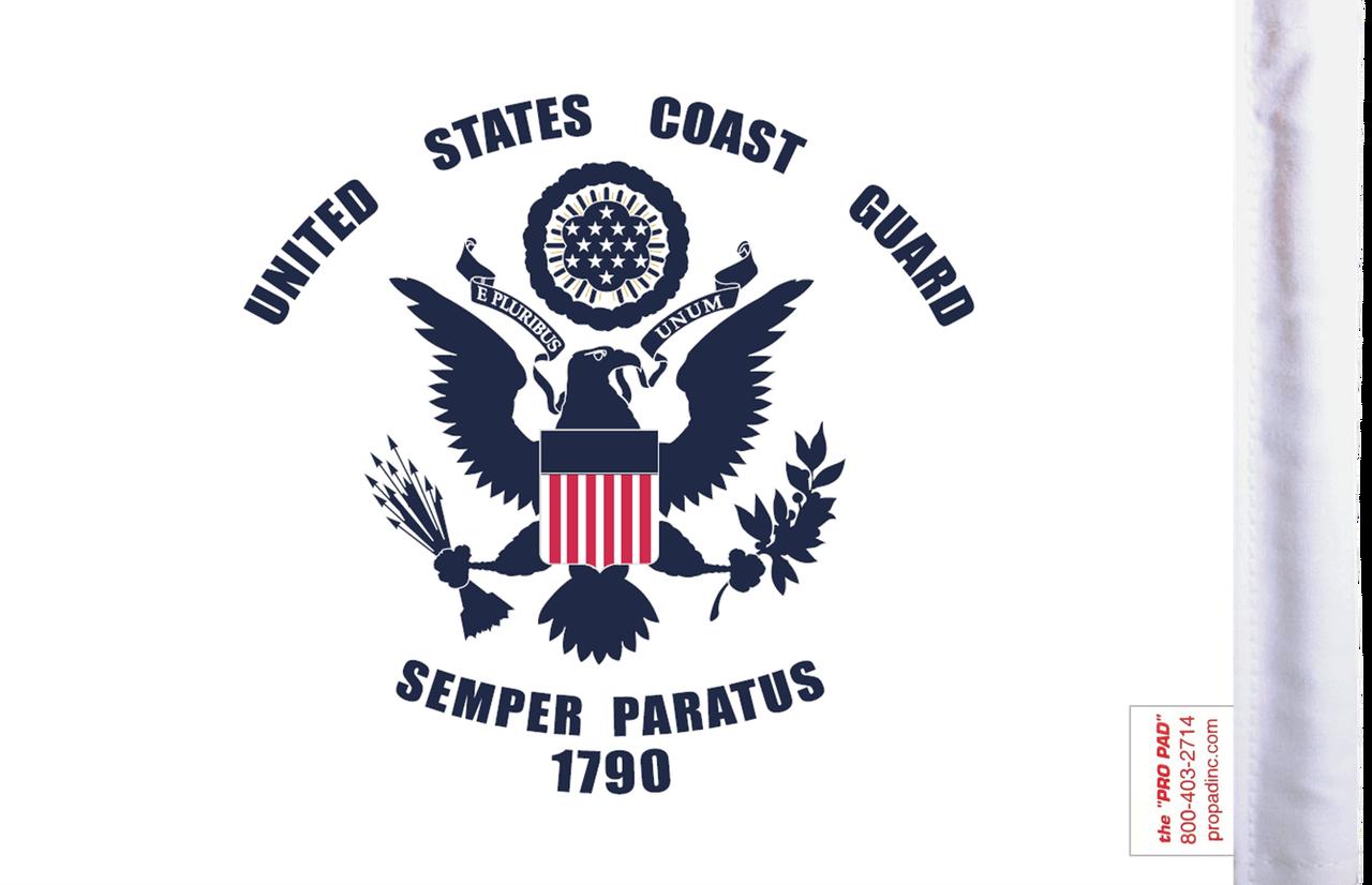 FLG-CGD  U.S. Coast Guard 6x9 flag (BACK)
