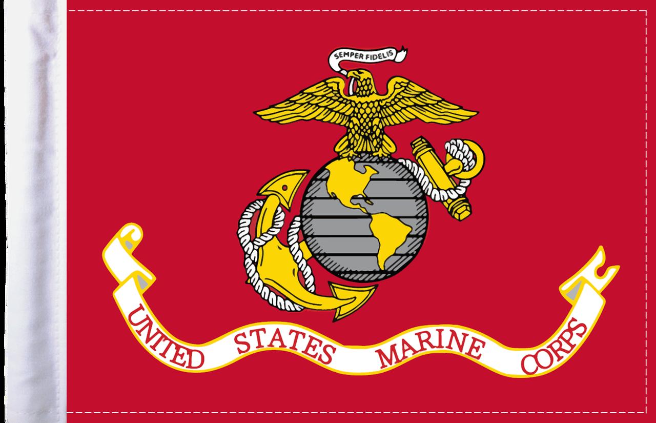 FLG-MAR  U.S. Marine Corps 6x9 flag