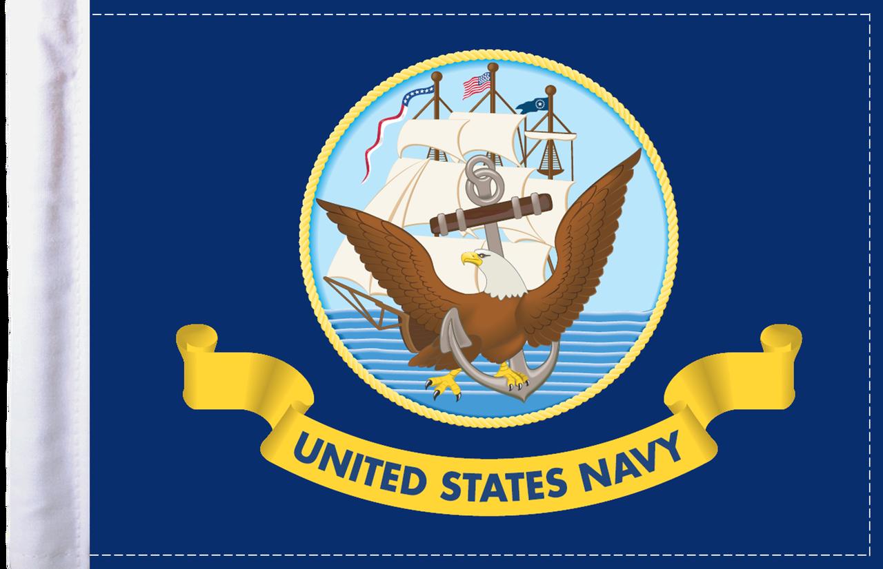 FLG-NAV  U.S. Navy 6x9 flag