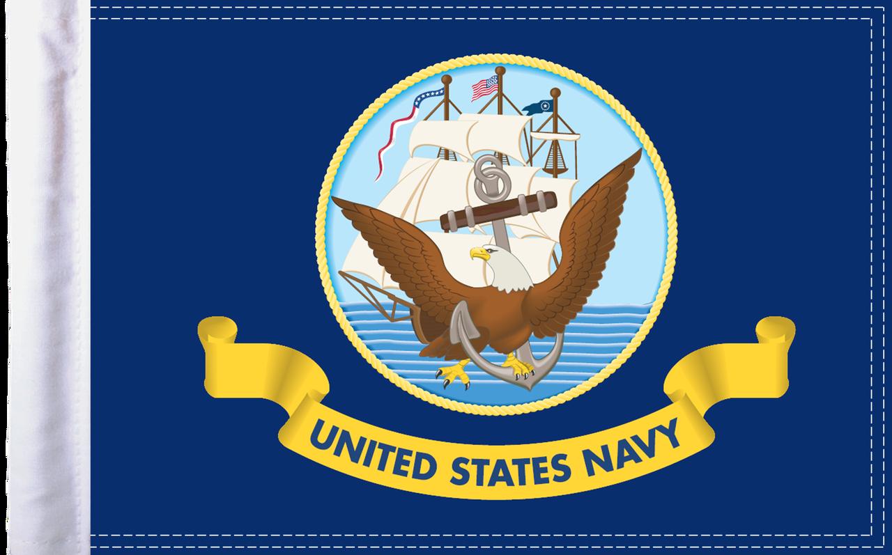 FLG-NAV15 U.S. Navy flag 10x15