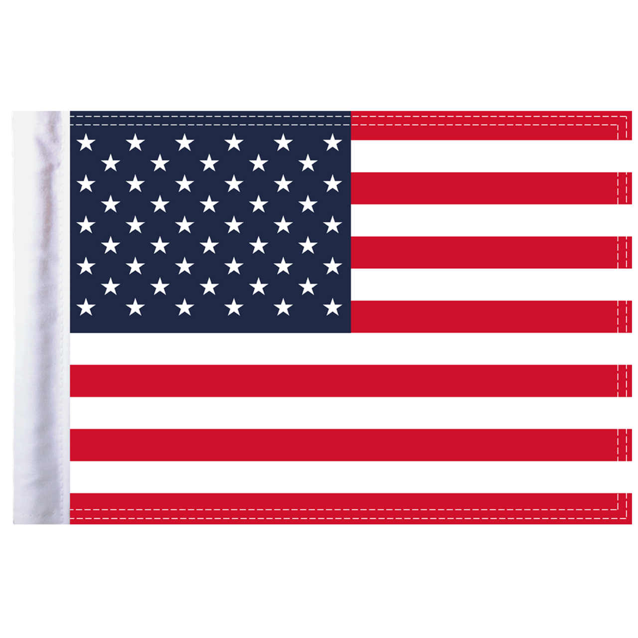 "10""x15"" Highway Flag:  United States of America"