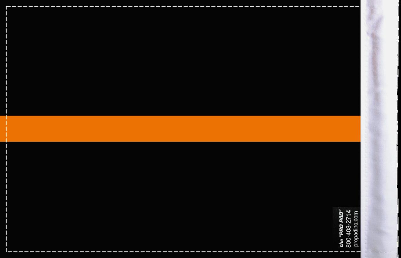 FLG-TOL-EMS   Thin Orange Line EMS 6x9 flag (BACK)
