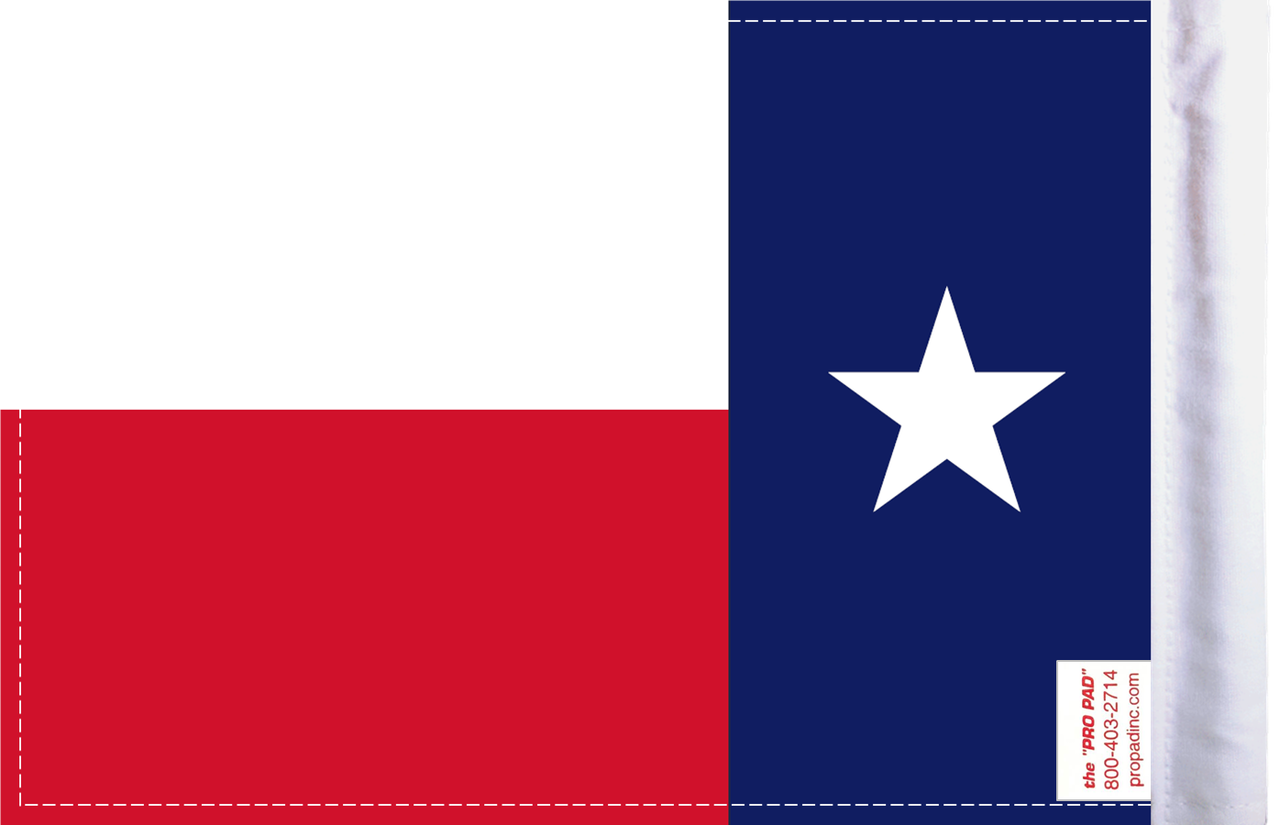 FLG-TEX  Texas flag 6x9 (BACK)