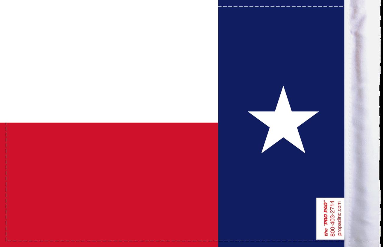 FLG-TEX  Texas flag 6x9 (BACK)
