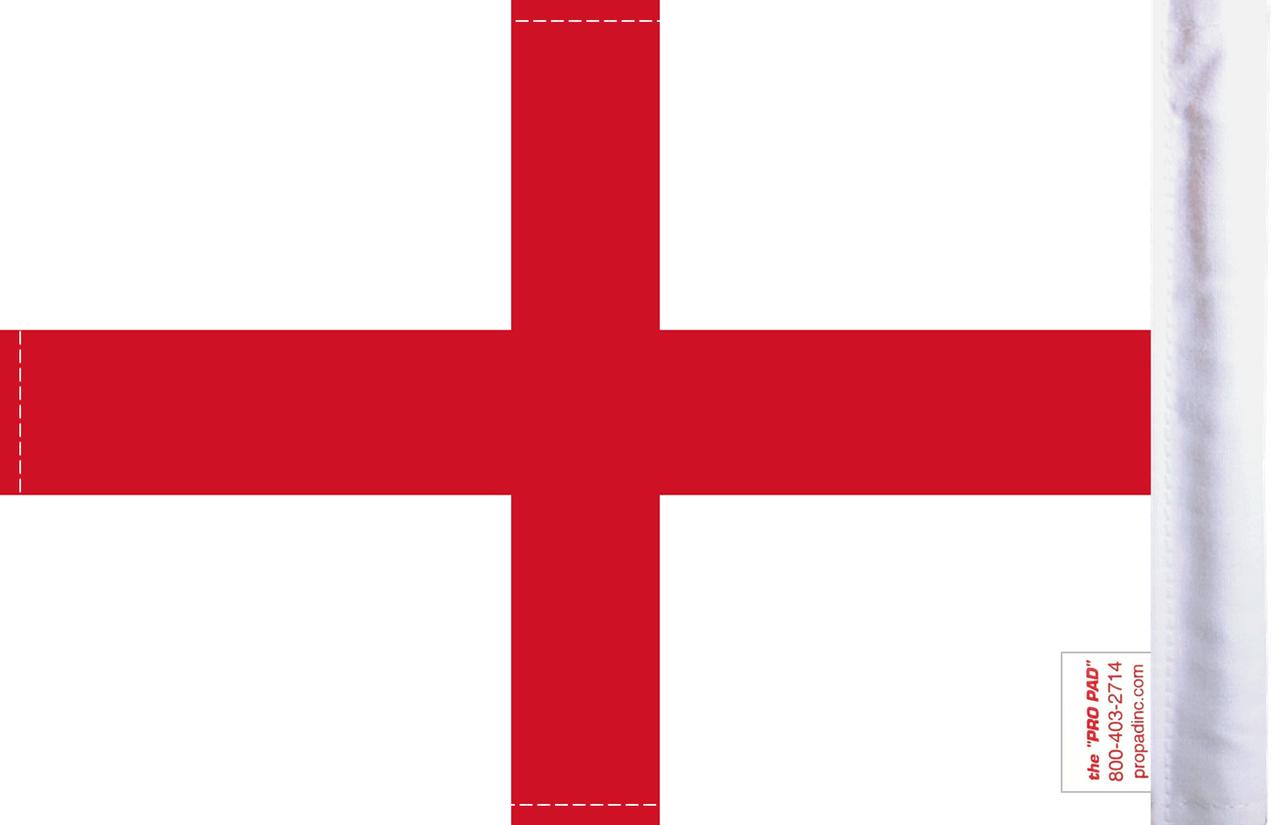FLG-CSG England's Cross St George Flag 6x9 (BACK)