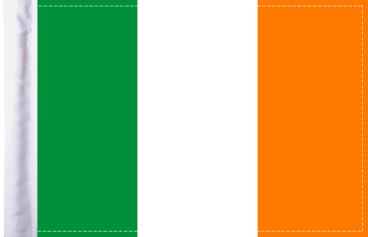 FLG-IRISH Iredland Flag 6x9