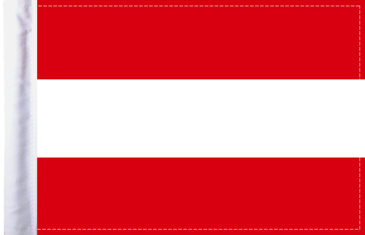 FLG-AUT Austria Flag 6x9