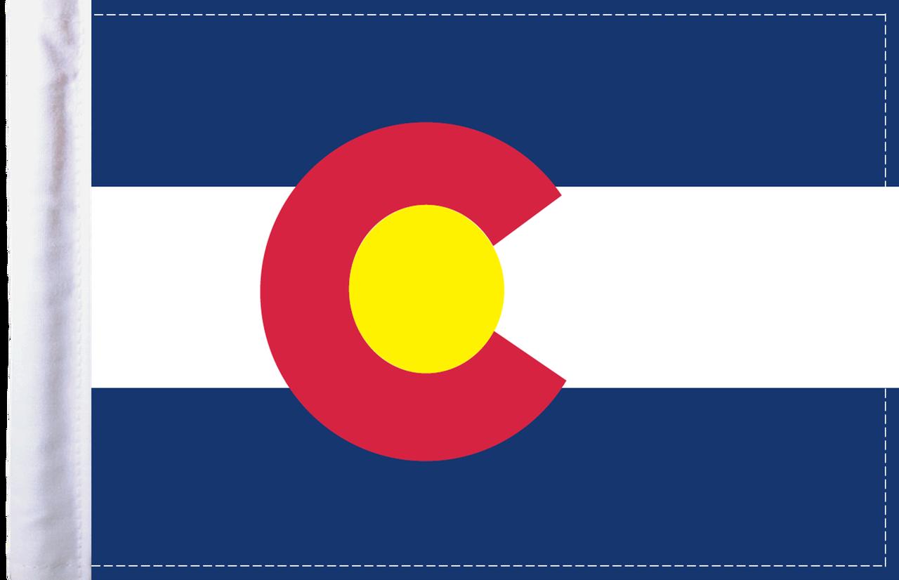 FL-CO Colorado 6x9 flag