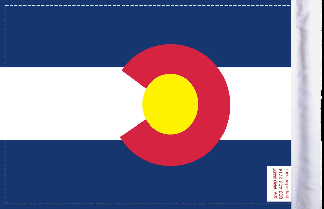FL-CO Colorado 6x9 flag (BACK)