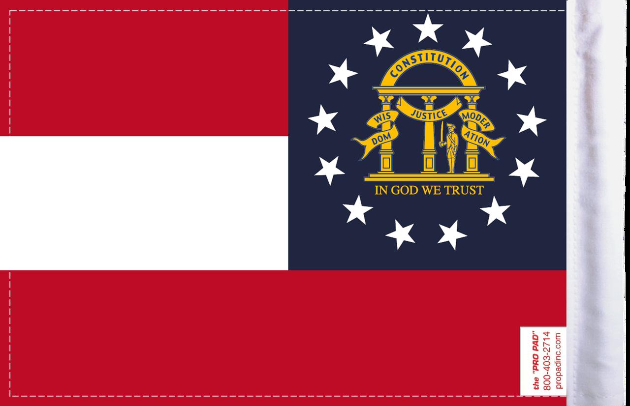 FLG-GA Georgia Flag 6x9 (BACK)