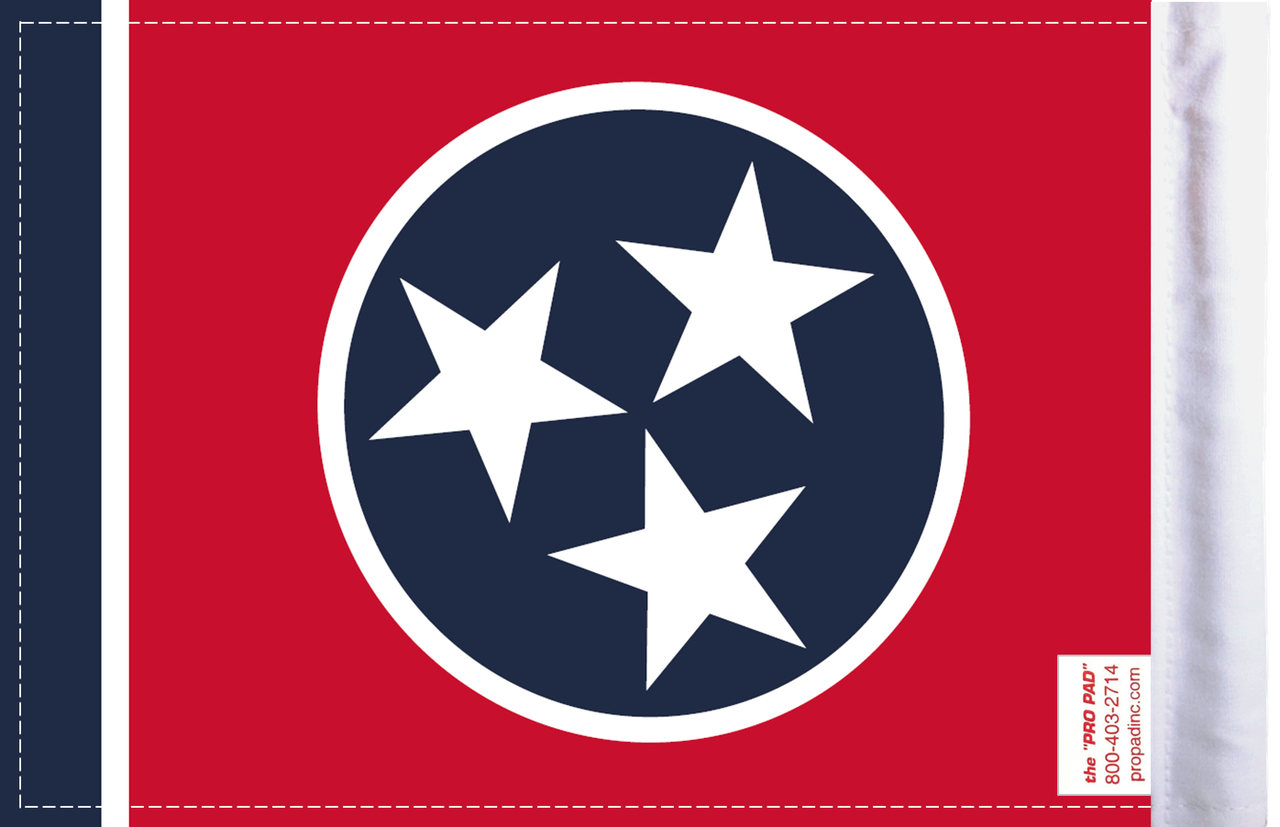 FLG-TN  Tennessee Flag 6x9 (BACK)