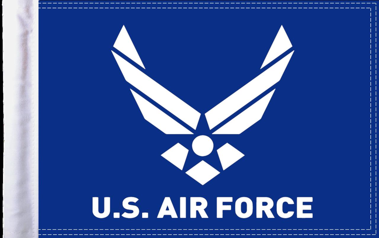 FLG-AFL15  U.S. Air Force (wings) 10x15 flag