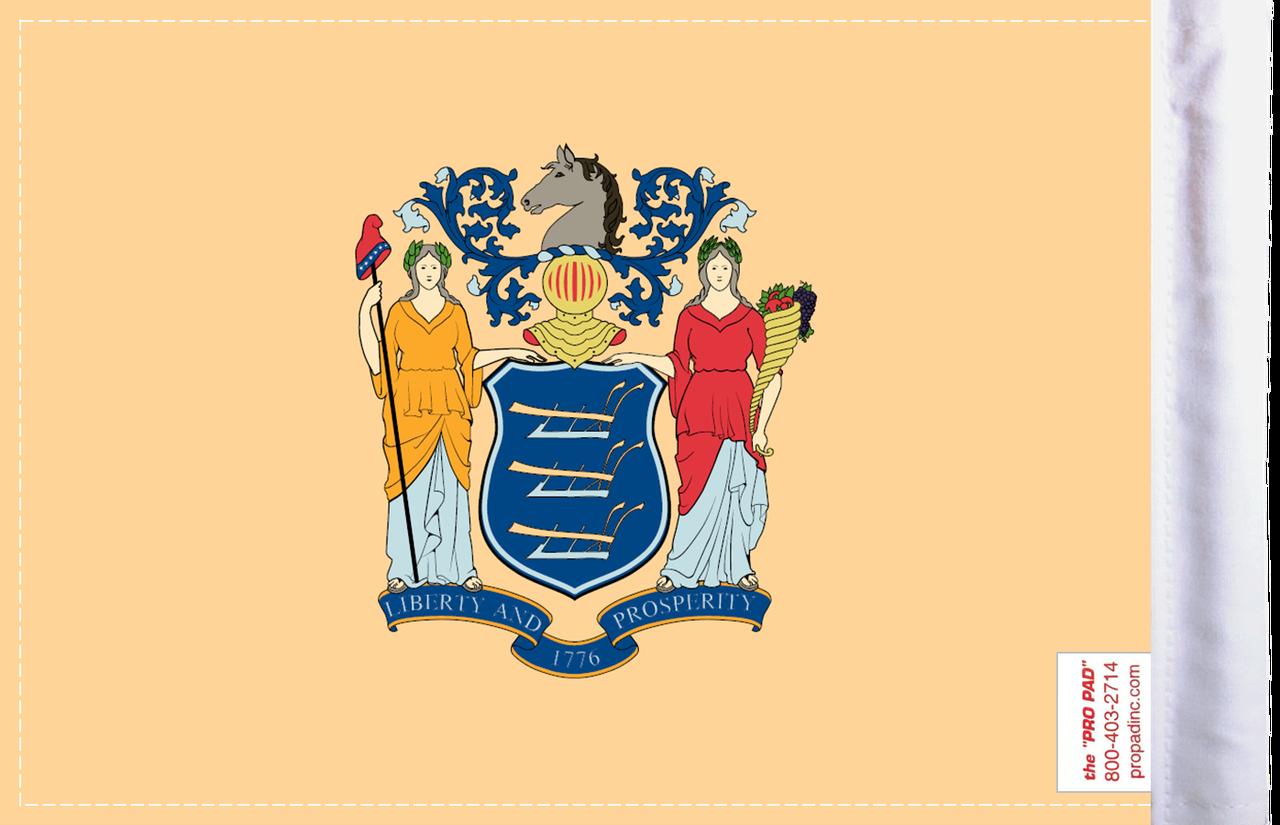FLG-NJ  New Jersey Flag 6x9 (BACK)