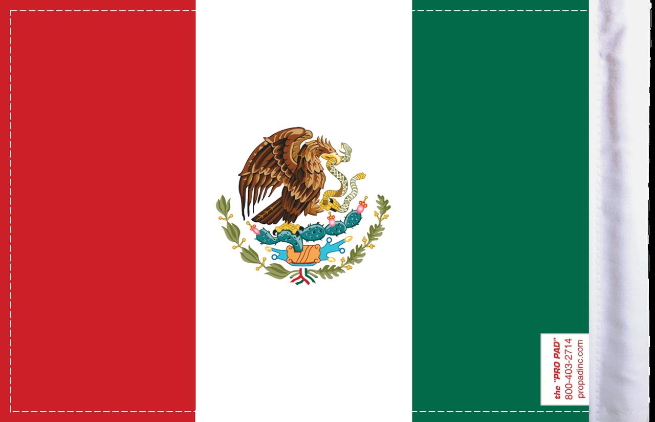 FLG-MEX Mexico 6x9 flag (BACK)