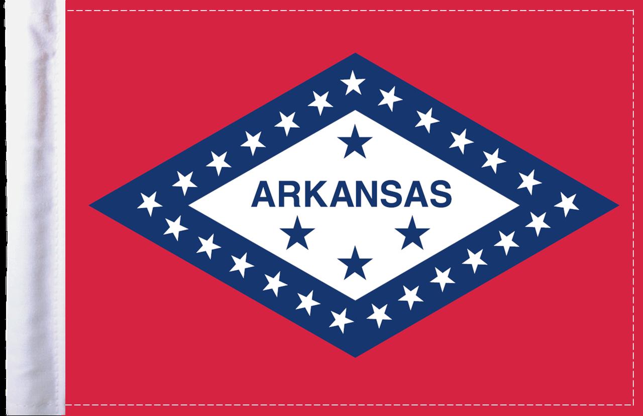 FLG-AR Arkansas Flag 6x9