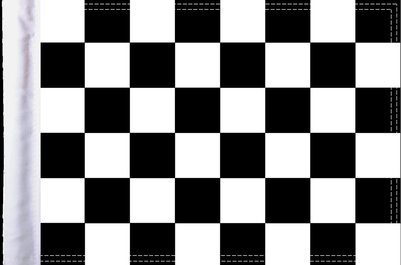 "10""x15"" Parade flag:  Checkered"