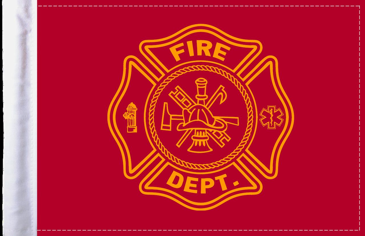 FLG-FIRF Firefighter 6x9 flag