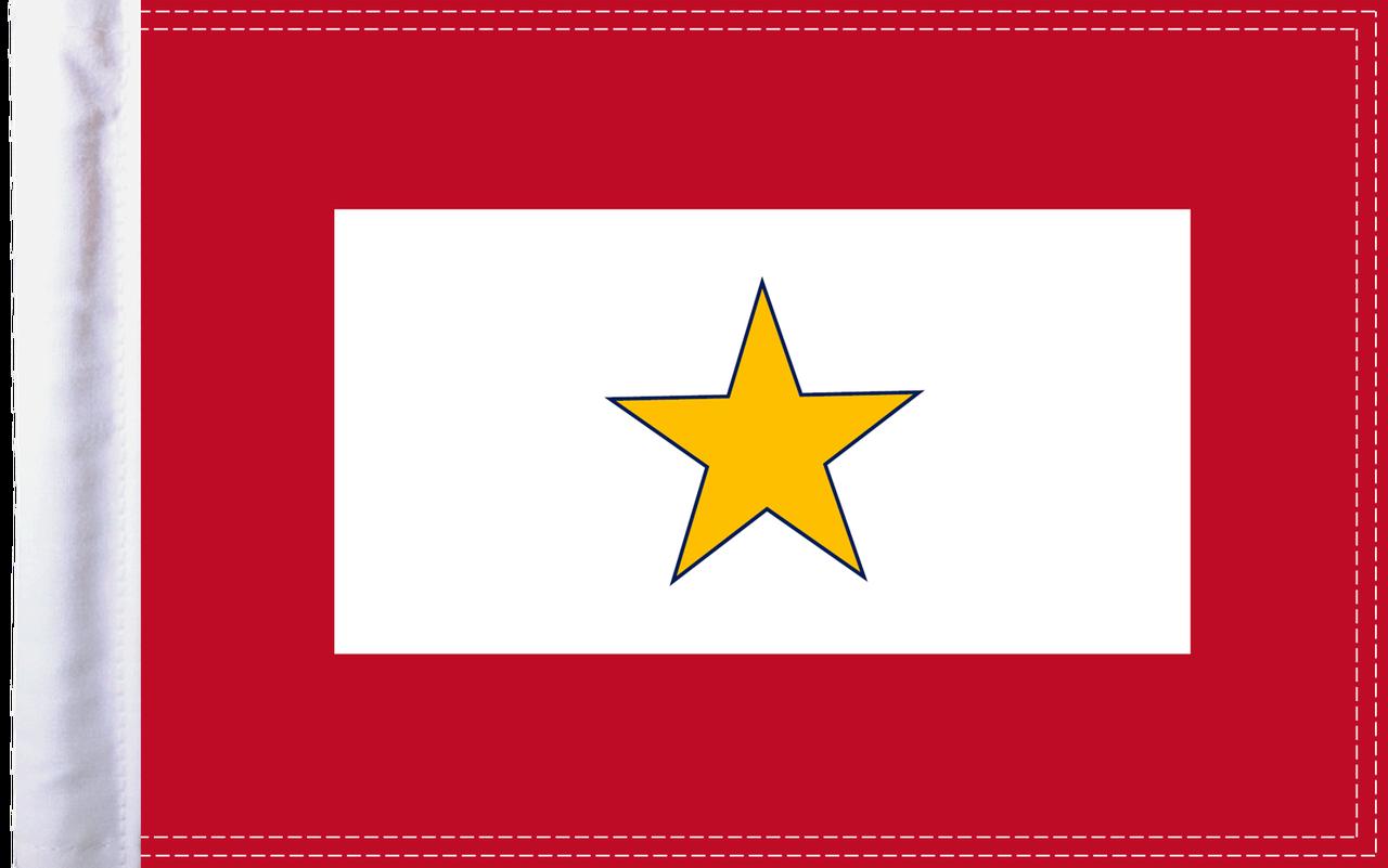 FLG-GS15  Gold Star Service flag 10x15