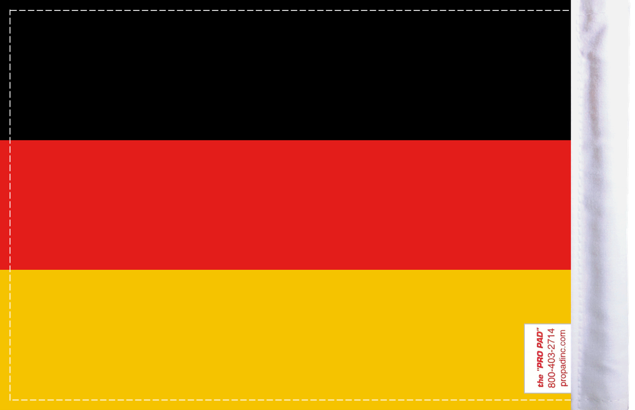 FLG-GERM Germany Flag 6x9 (BACK)