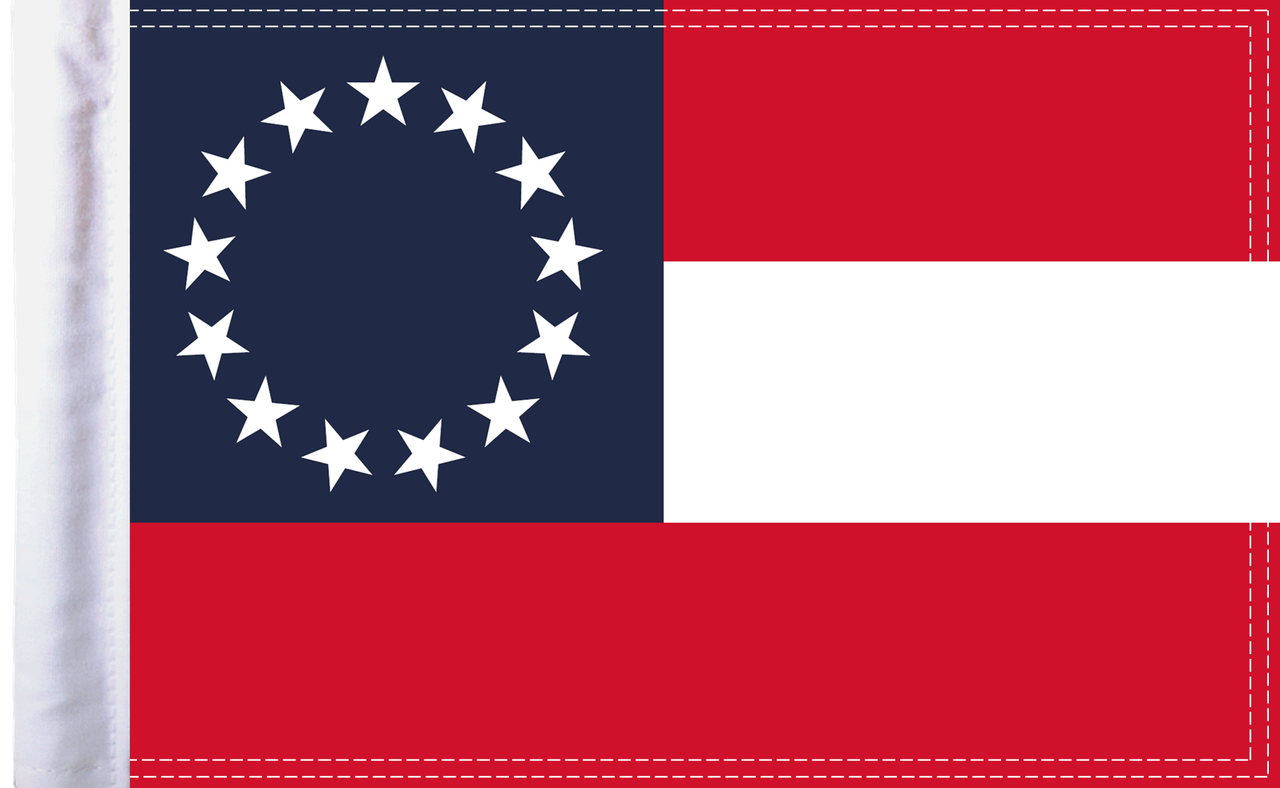 FLG-CSB15 Confederate Stars and Bars 10x15 flag