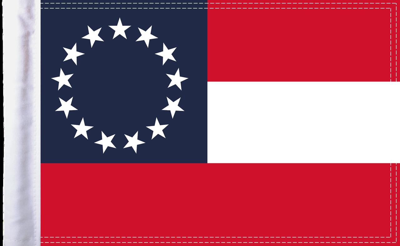 FLG-CSB15 Confederate Stars and Bars 10x15 flag