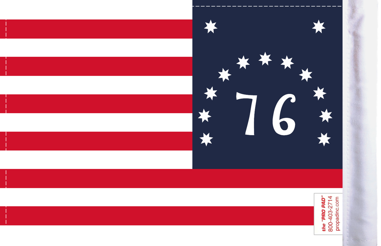 FLG-76BEN U.S. Bennington Flag 6x9 (BACK)