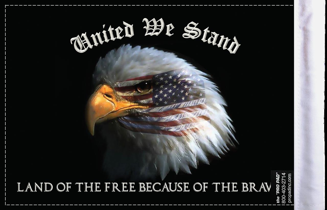 FLG-UWS  United We Stand flag 6x9 (BACK)