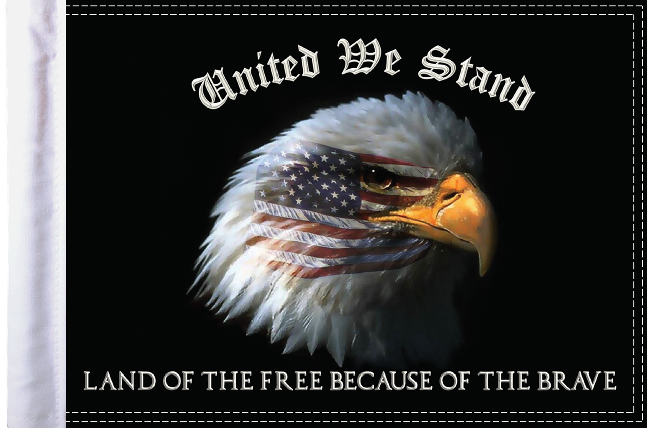 FLG-UWS15  United We Stand flag 10x15